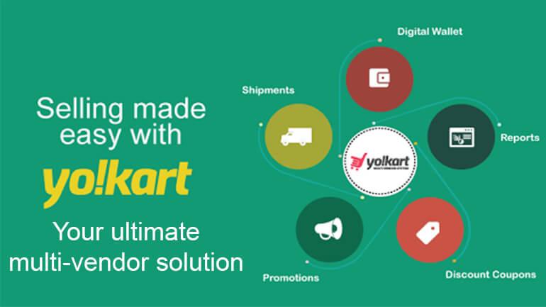 Yo!Kart multi-vendor eCommerce platform